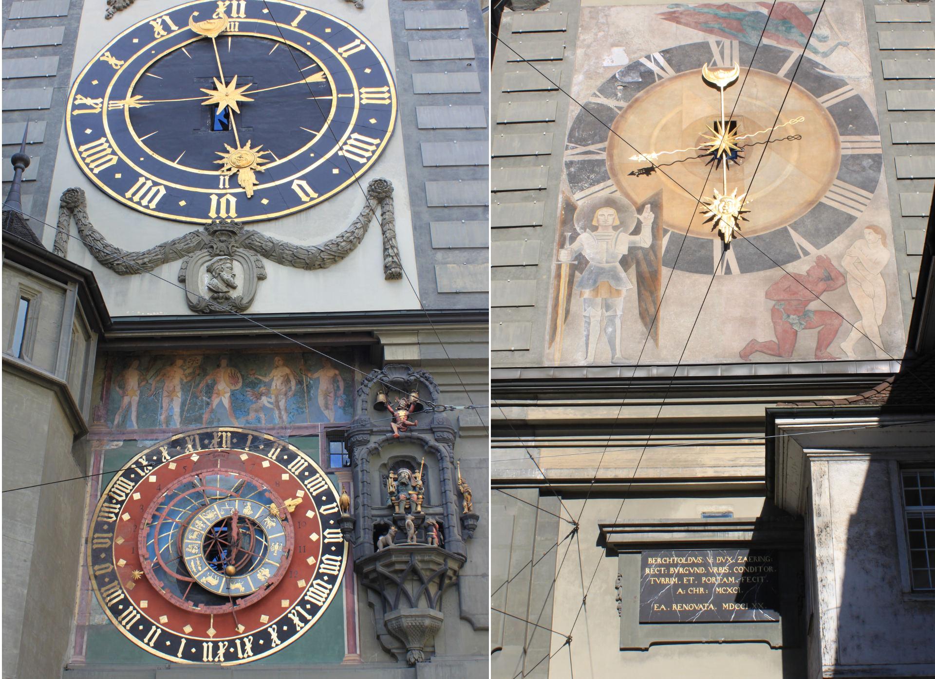 szwajcaria berno bern zegar staremiasto stolica iglawpodrozy