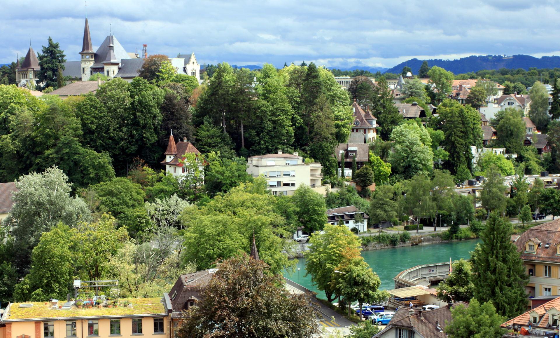 szwajcaria berno bern rzeka aare most kamienice staremiasto stolica iglawpodrozy