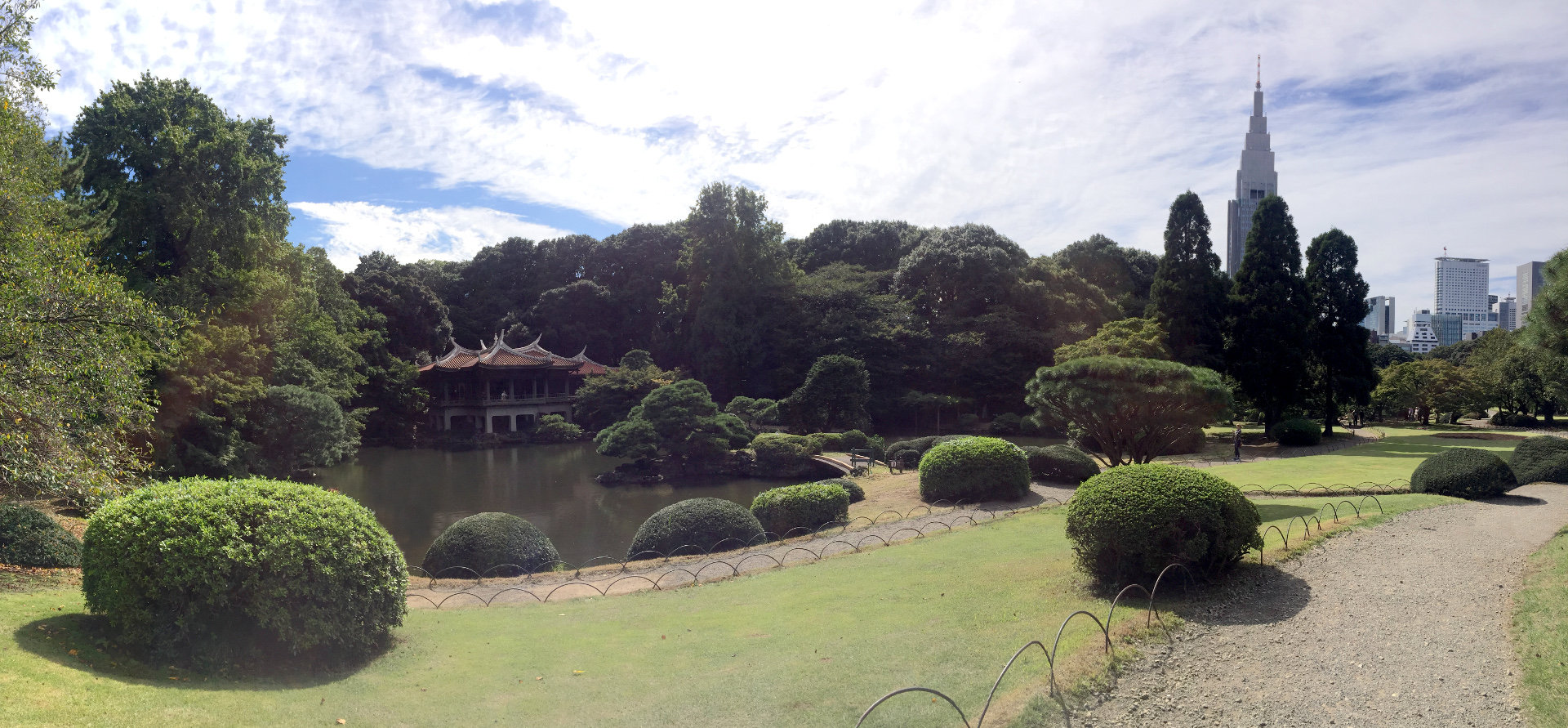 japonia tokio park shinjuku national garden iglawpodrozy