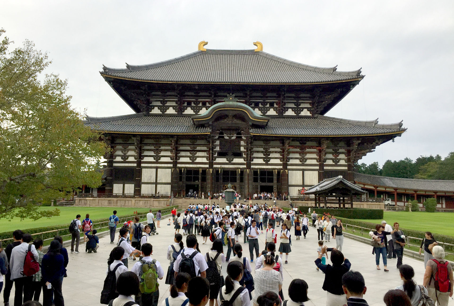 japonia nara swiatynia todai-ji todaiji