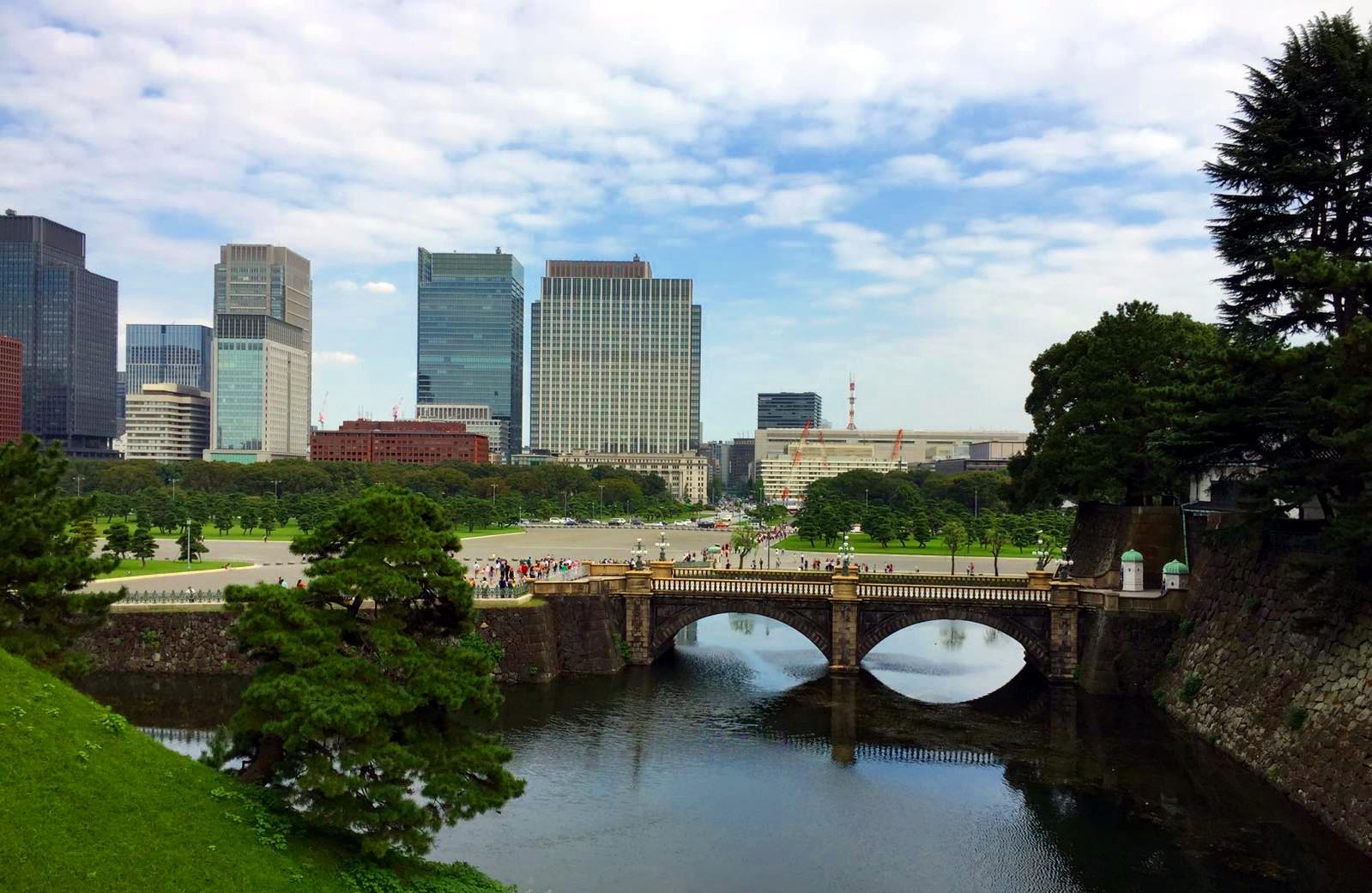 dzielnica Chiyoda Tokio Hibya Park iglawpodrozy