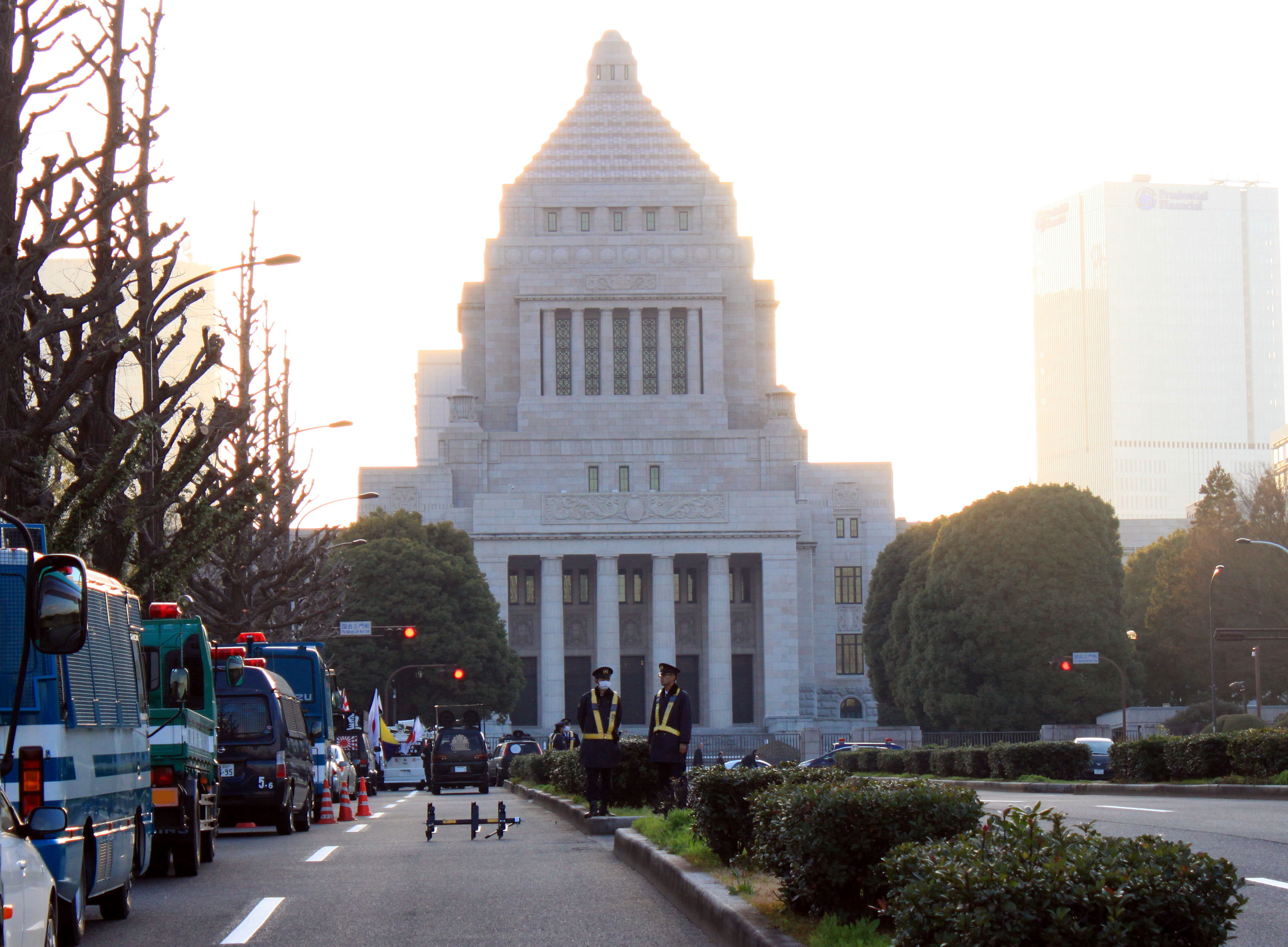 dzielnica Chiyoda Tokio Parlament Japonii iglawpodrozy