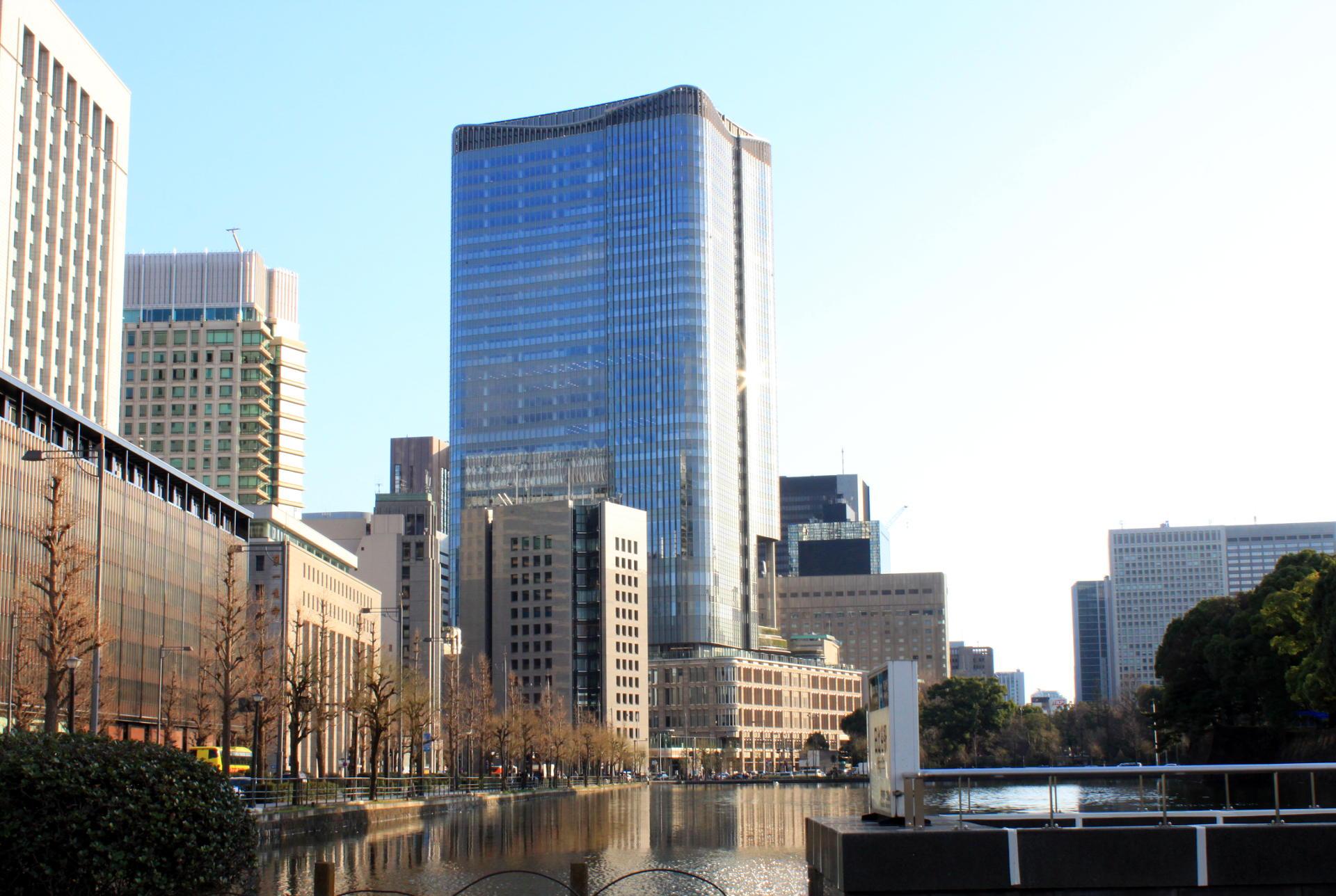 dzielnica Chiyoda Tokio wieżowce iglawpodrozy
