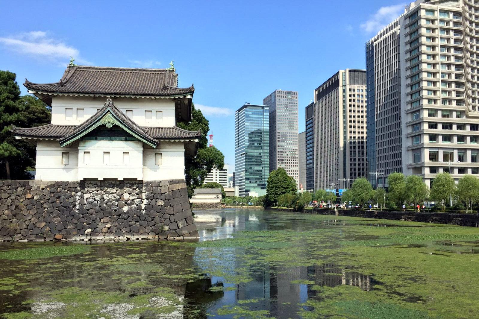 dzielnica Chiyoda Tokio Pałac Cesarski iglawpodrozy