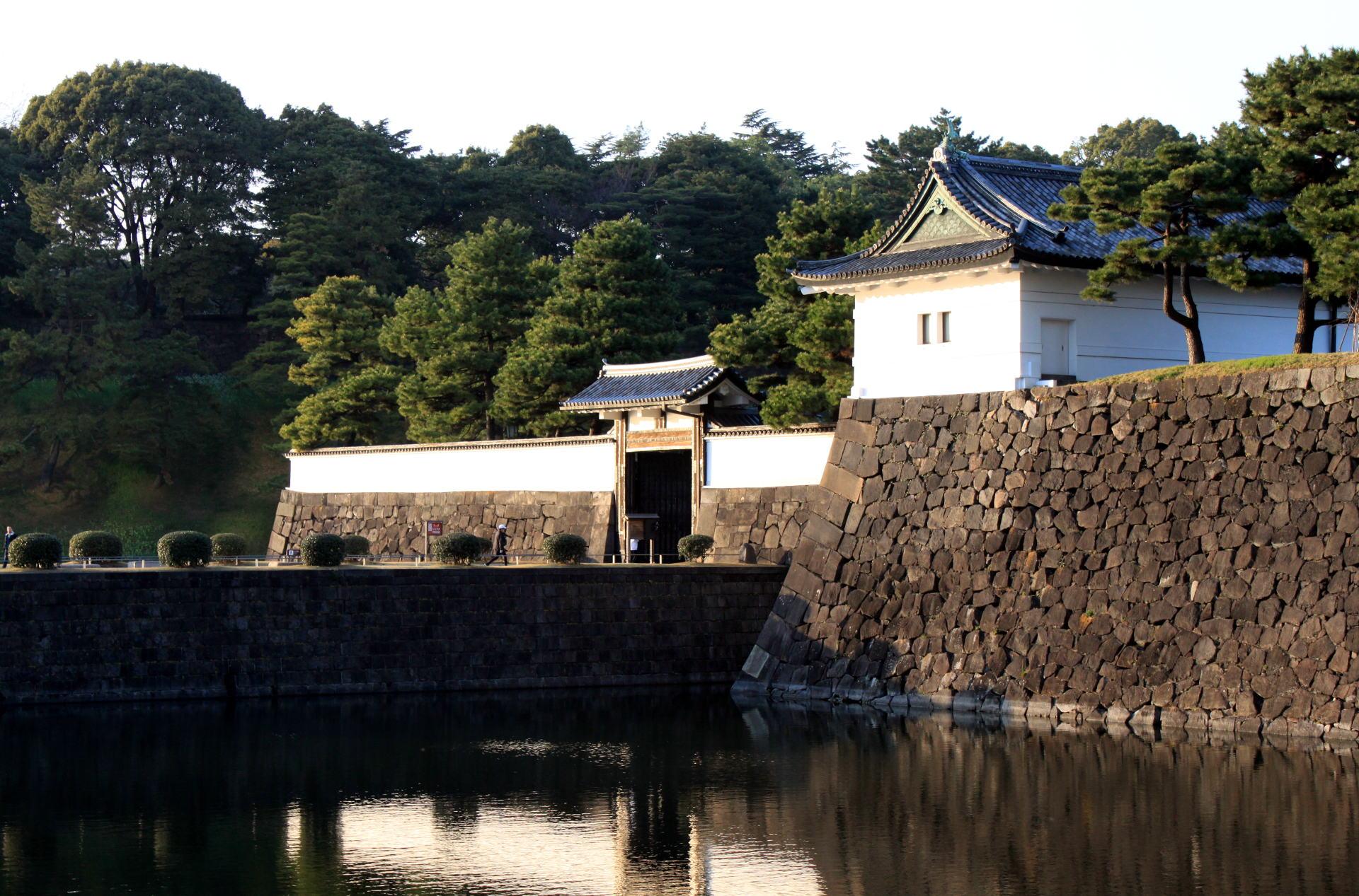 dzielnica Chiyoda Tokio Pałac Cesarskit iglawpodrozy