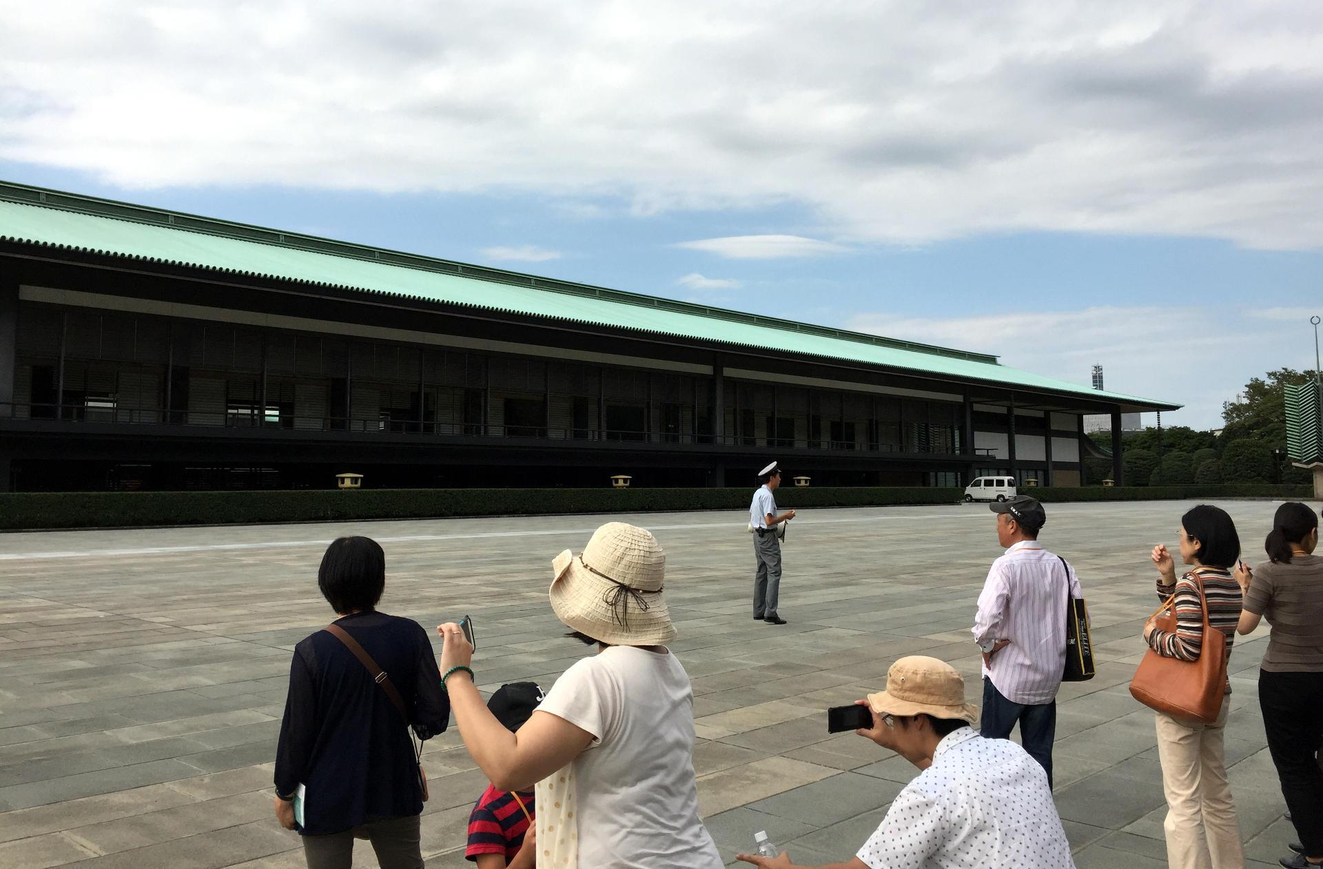 dzielnica Chiyoda Tokio wycieczka do Pałacu Cesarskiego iglawpodrozy