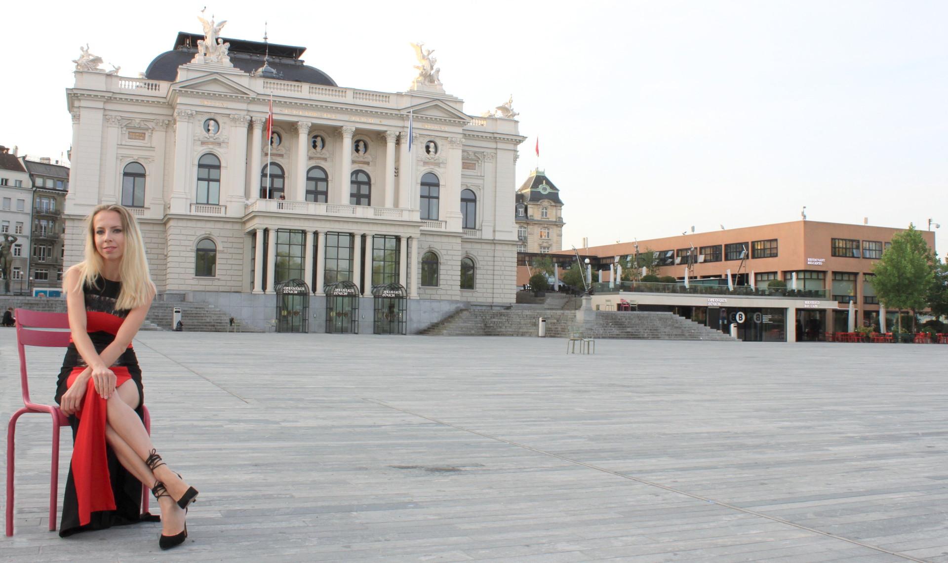 szwajcaria zurych zurich opera dluga suknia elegancka igla nosi iglawpodrozy