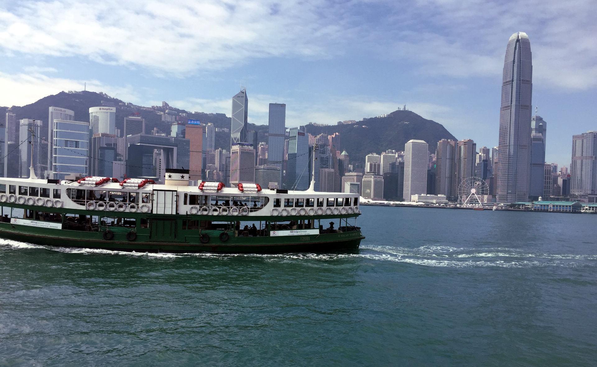 hongkong miasto statek iglawpodrozy