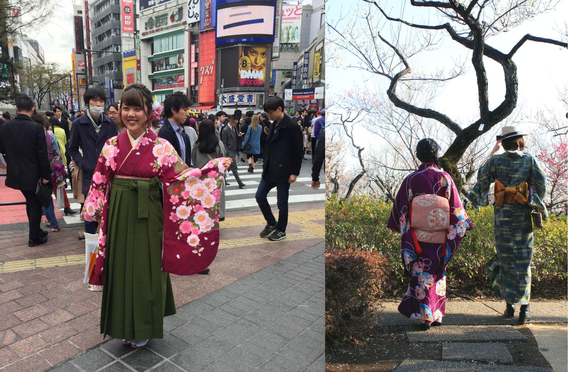 tokio japonia tokyo japan kimono tradition japanesewomaniglawpodrozy
