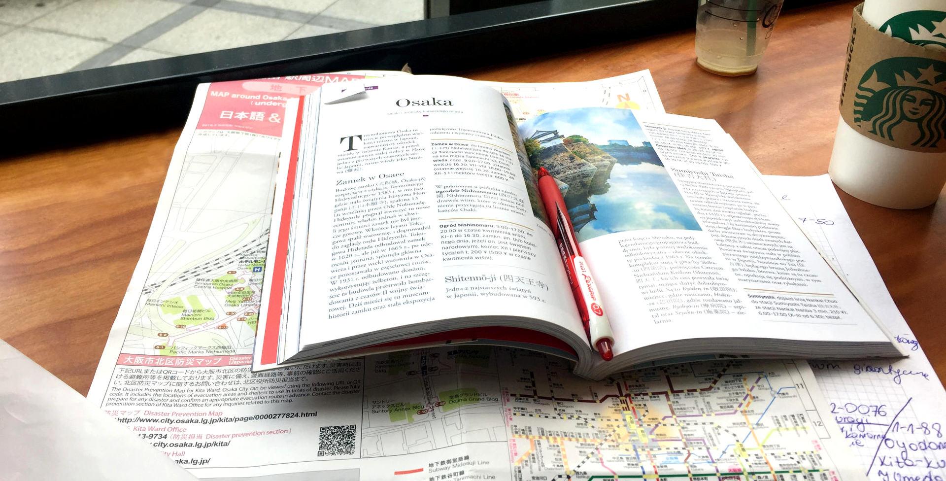 planowanie zwiedzania: Osaka iglawpodrozy