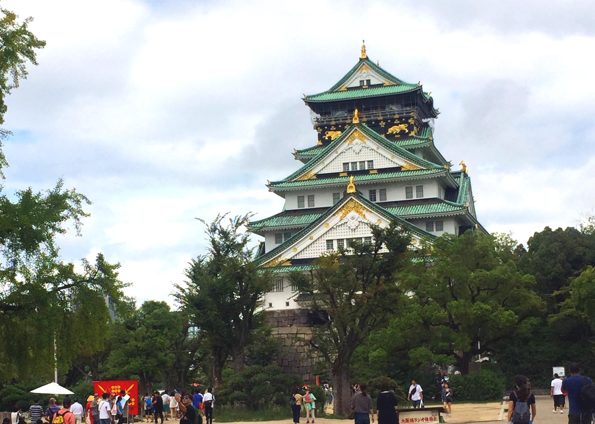 zamek Osaka iglawpodrozy