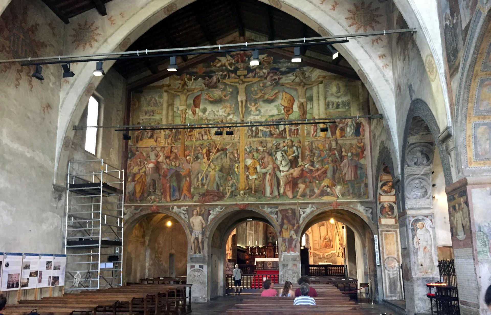 szwajcaria lugano kosciollugano chiesadisantamariadegliangeli freski budowlasakralnalugano luganoszwajcaria iglawpodrozy