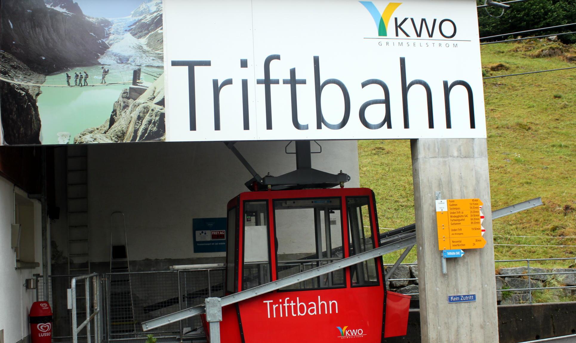 triftbahn stacja kolejki gondolowej iglawpodrozy