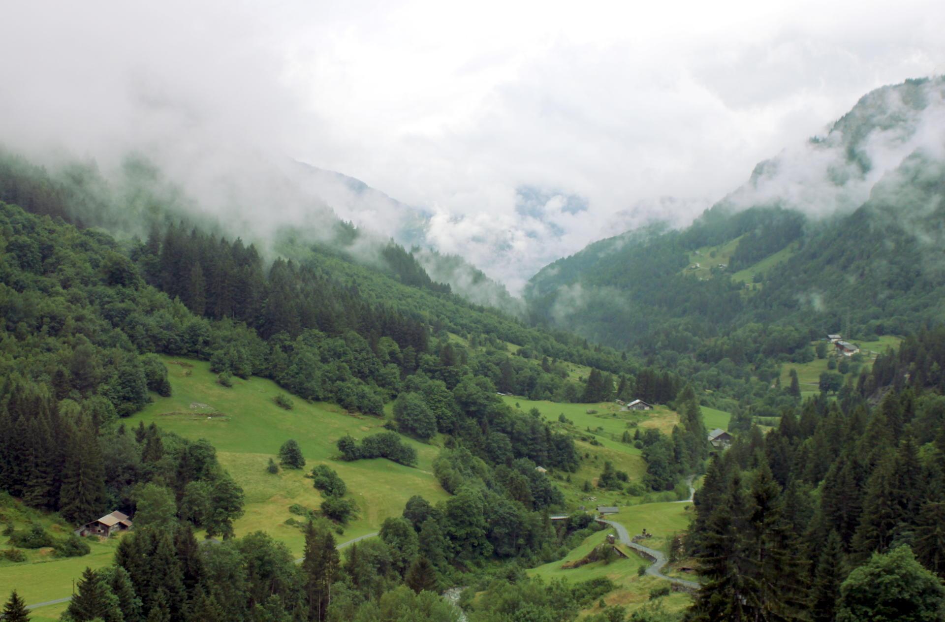 Szwajcaria widok Alpy iglawpodrozy