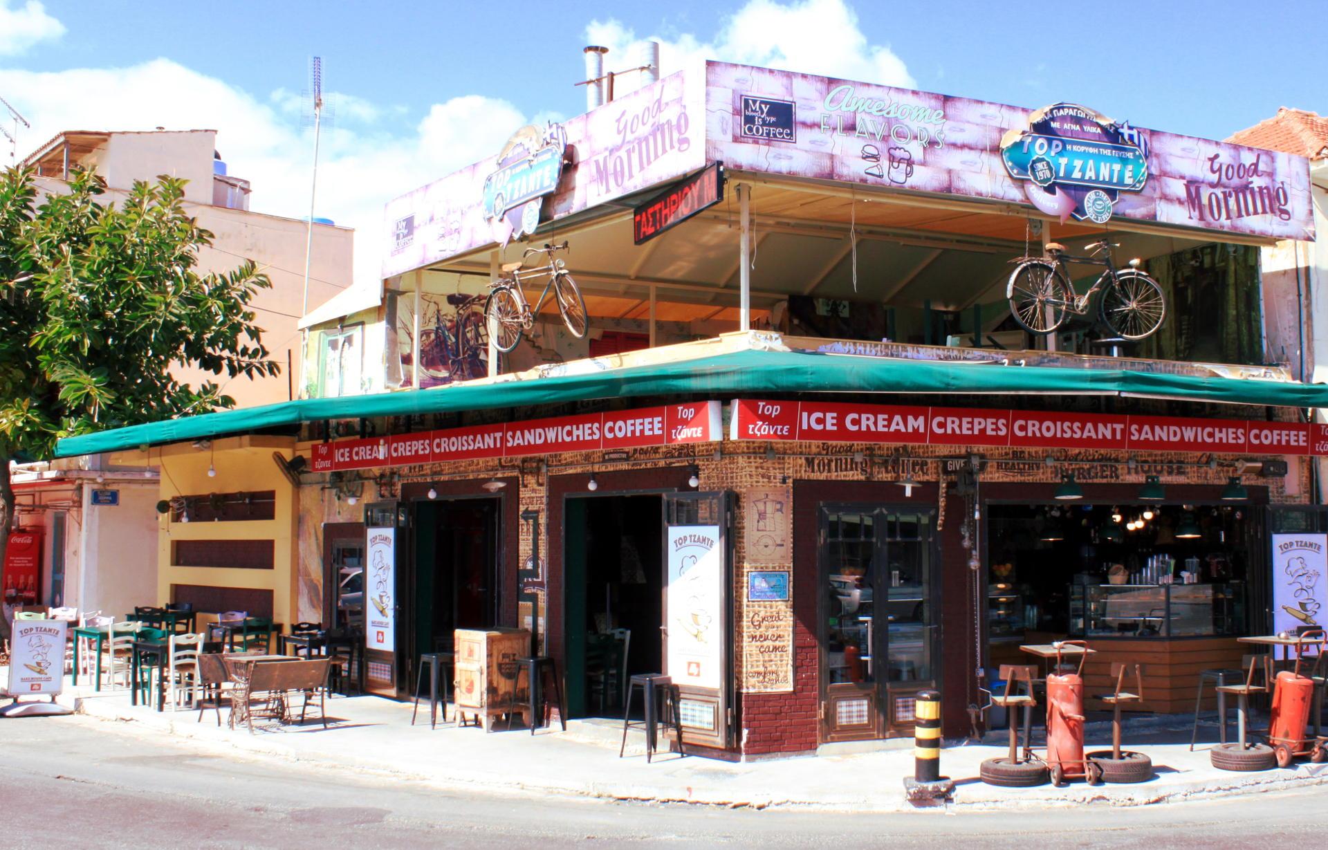 zakynthos grecja restauracje ulice iglawpodrozy