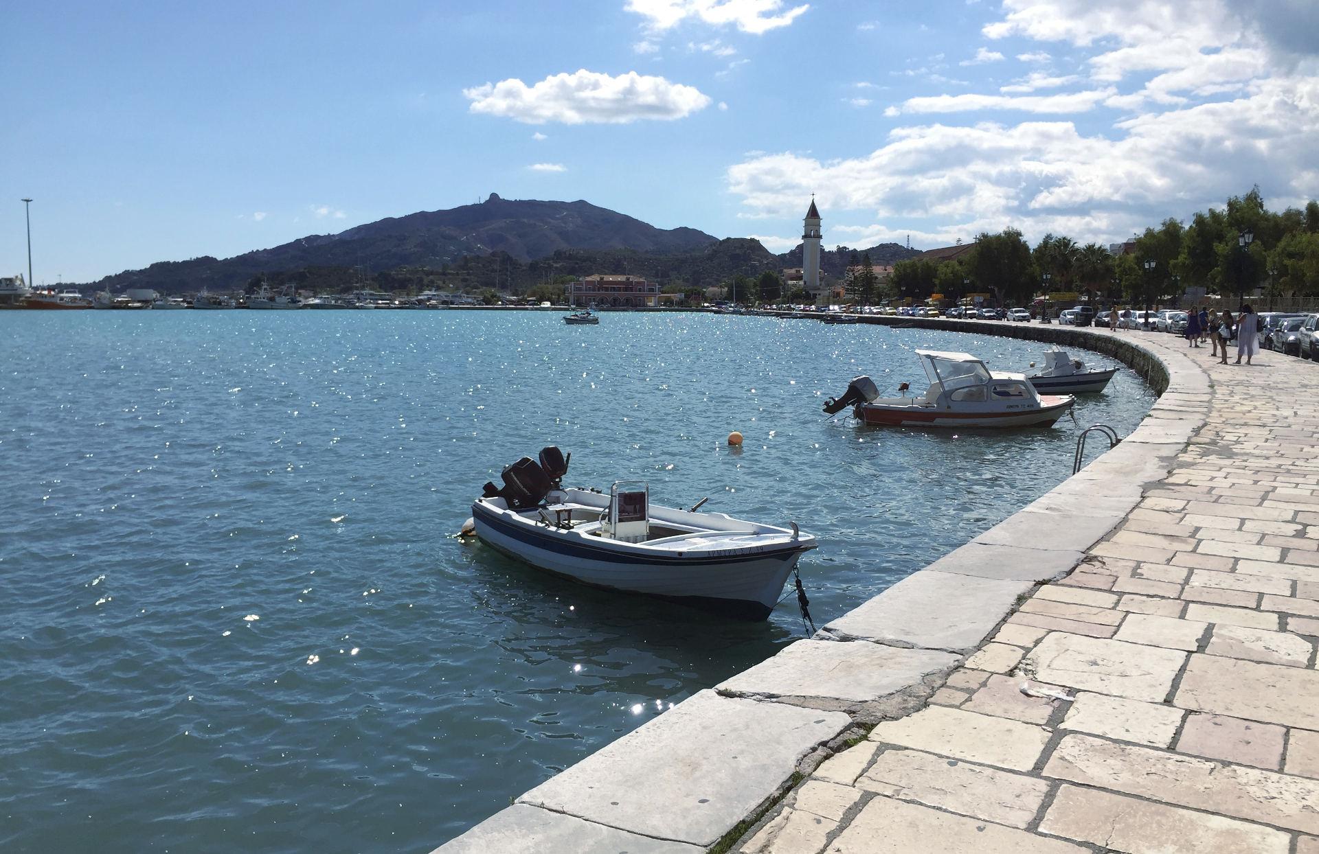 miasto zakynthos grecja widok na morze iglawpodrozy