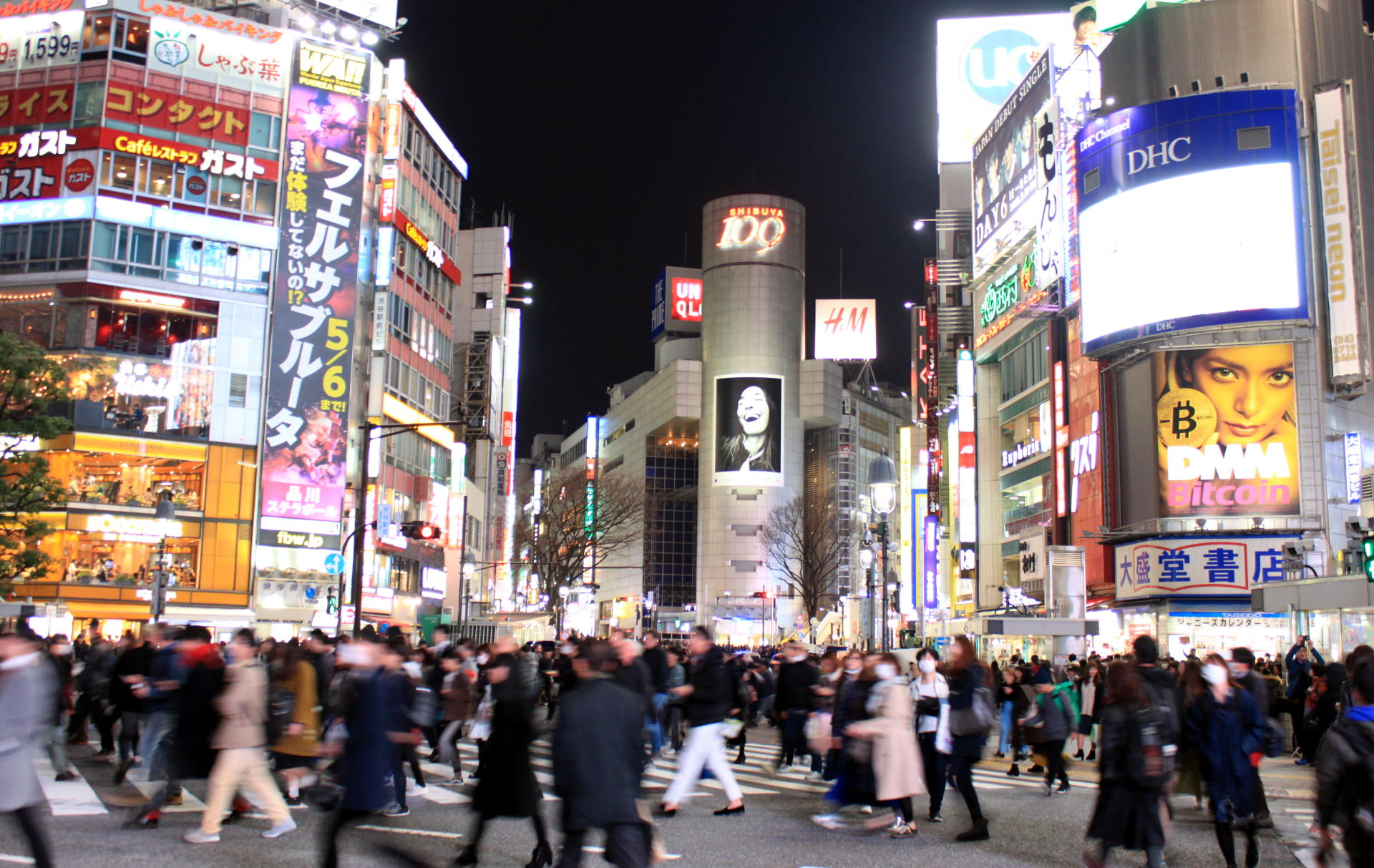 tokyo shibuya crossing iglawpodrozy