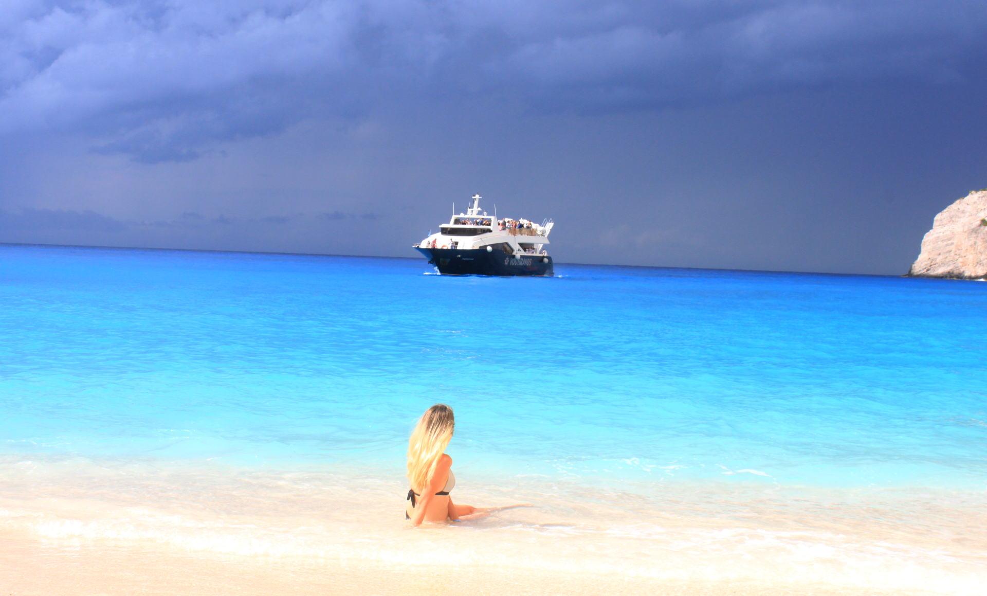 grecja zakynthos zatokawraku navagiobeach statek rajskaplaza iglawpodrozy