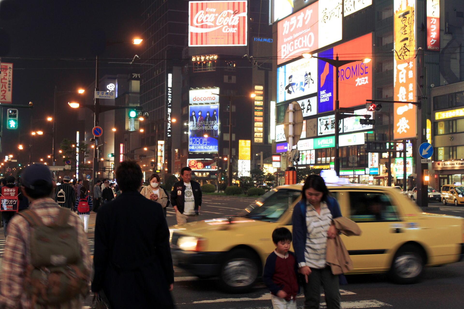 sapporo japonia hokkaido sapporostreetview ulicesapporo iglawpodroz