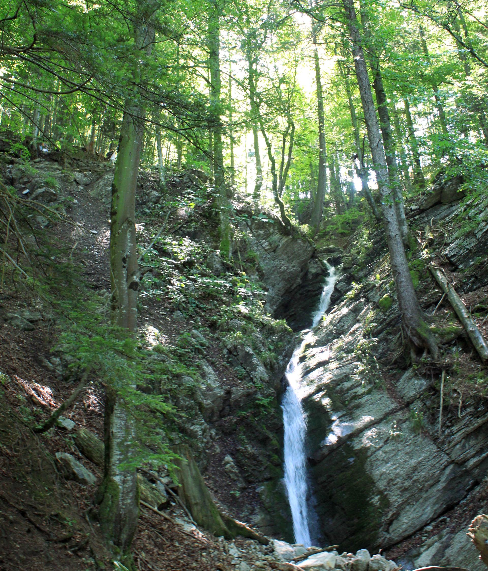 szwajcaria seealpsee alpy wodospad natura iglawpodrozy