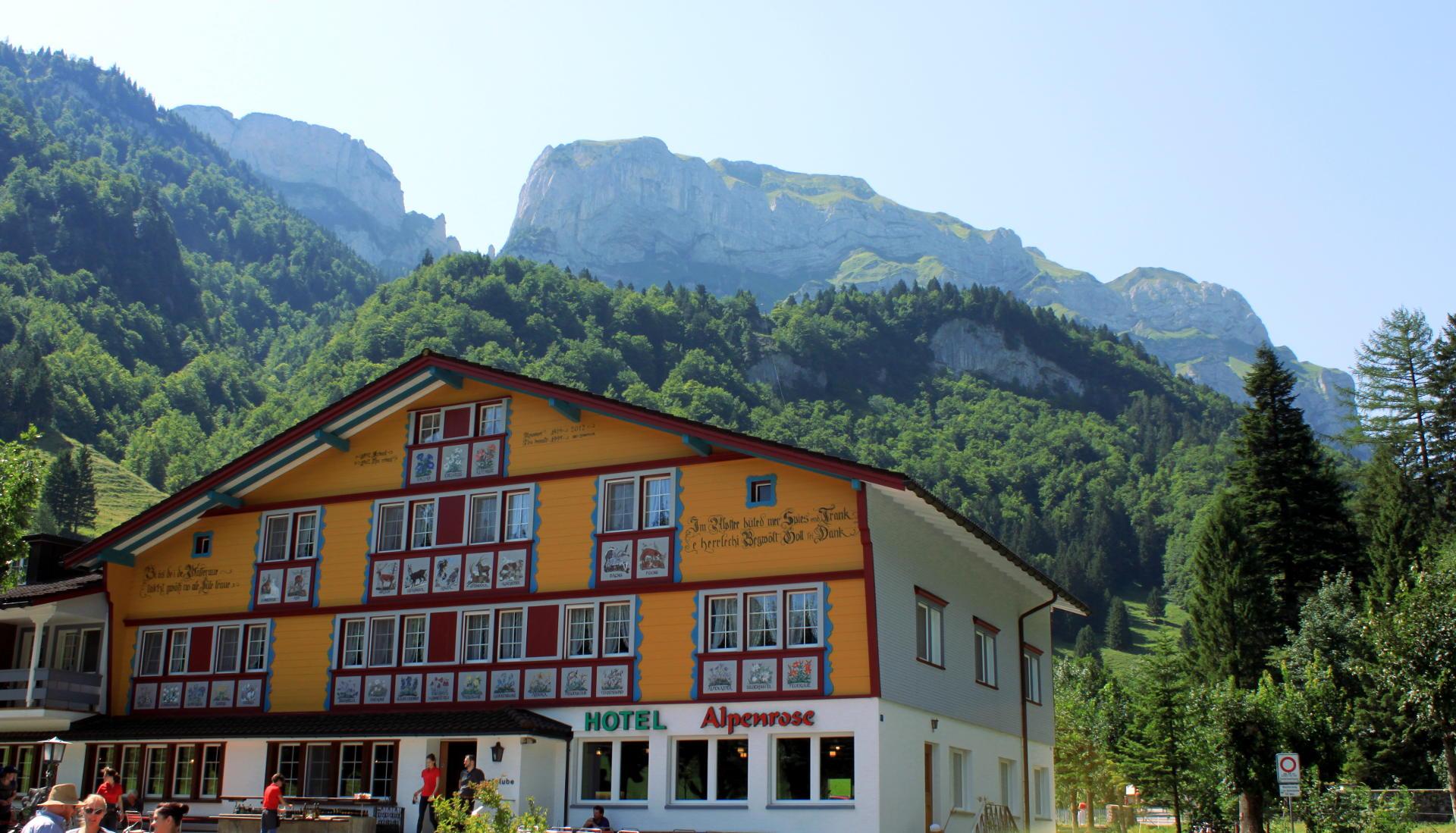 szwajcaria seealpsee hotel alpenrose alpy iglawpodrozy