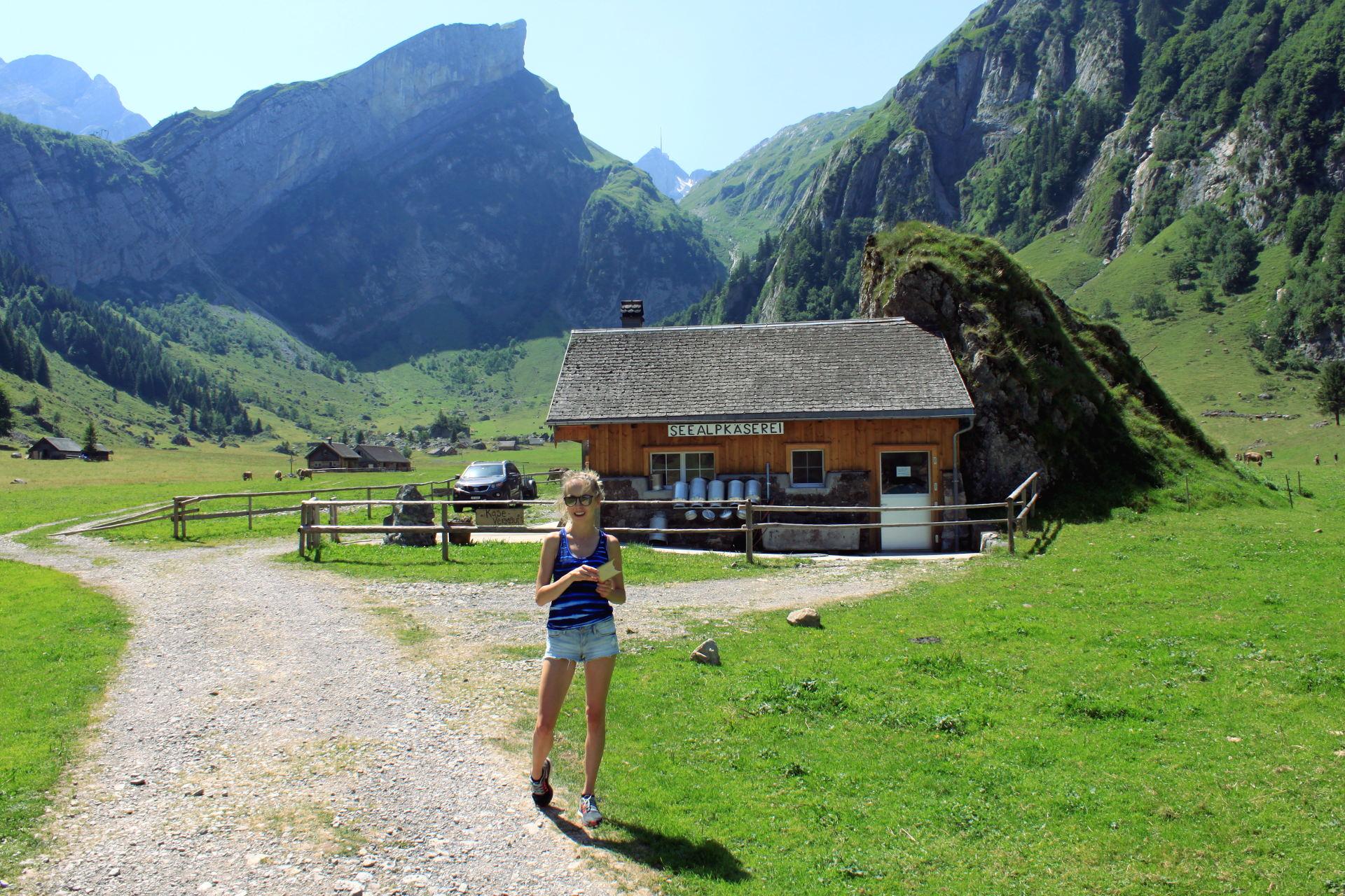 szwajcaria seealpsee appenzeller ser alpy góry iglawpodrozy