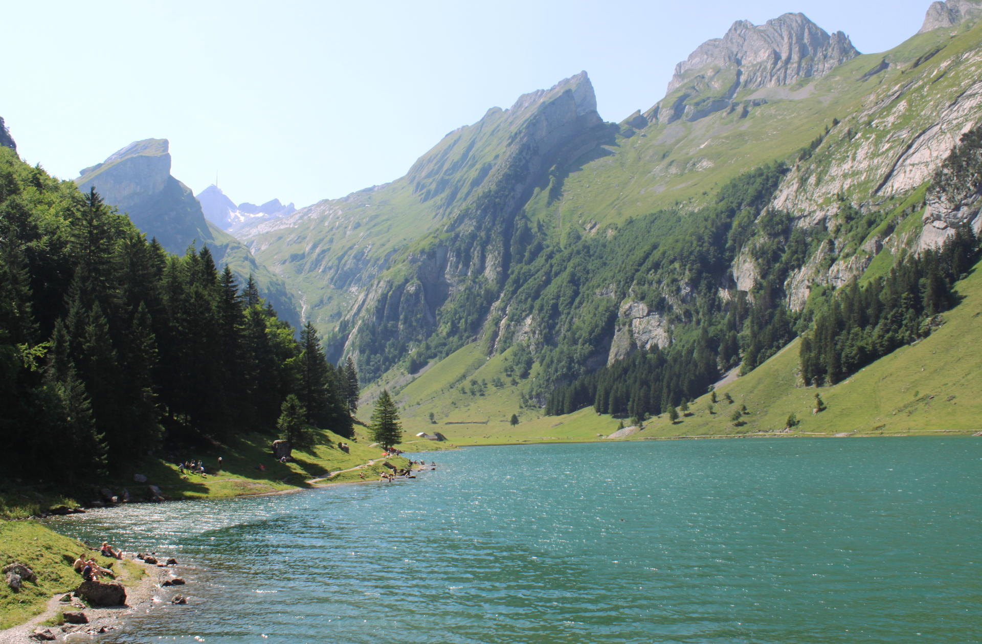 szwajcaria seealpsee jezioro natura iglawpodrozy