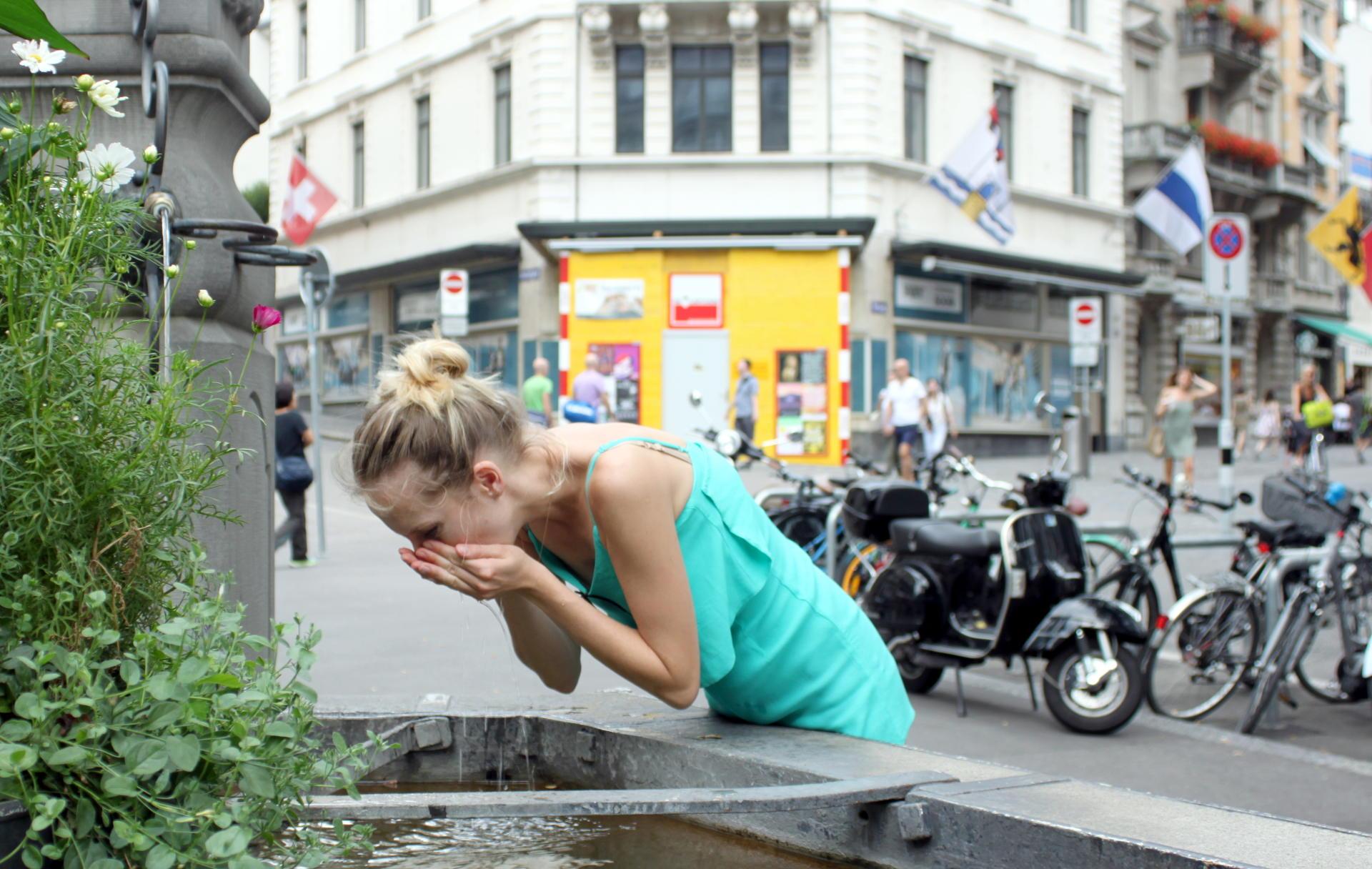 szwajcaria źródelka z wodą pitną iglawpodrozy