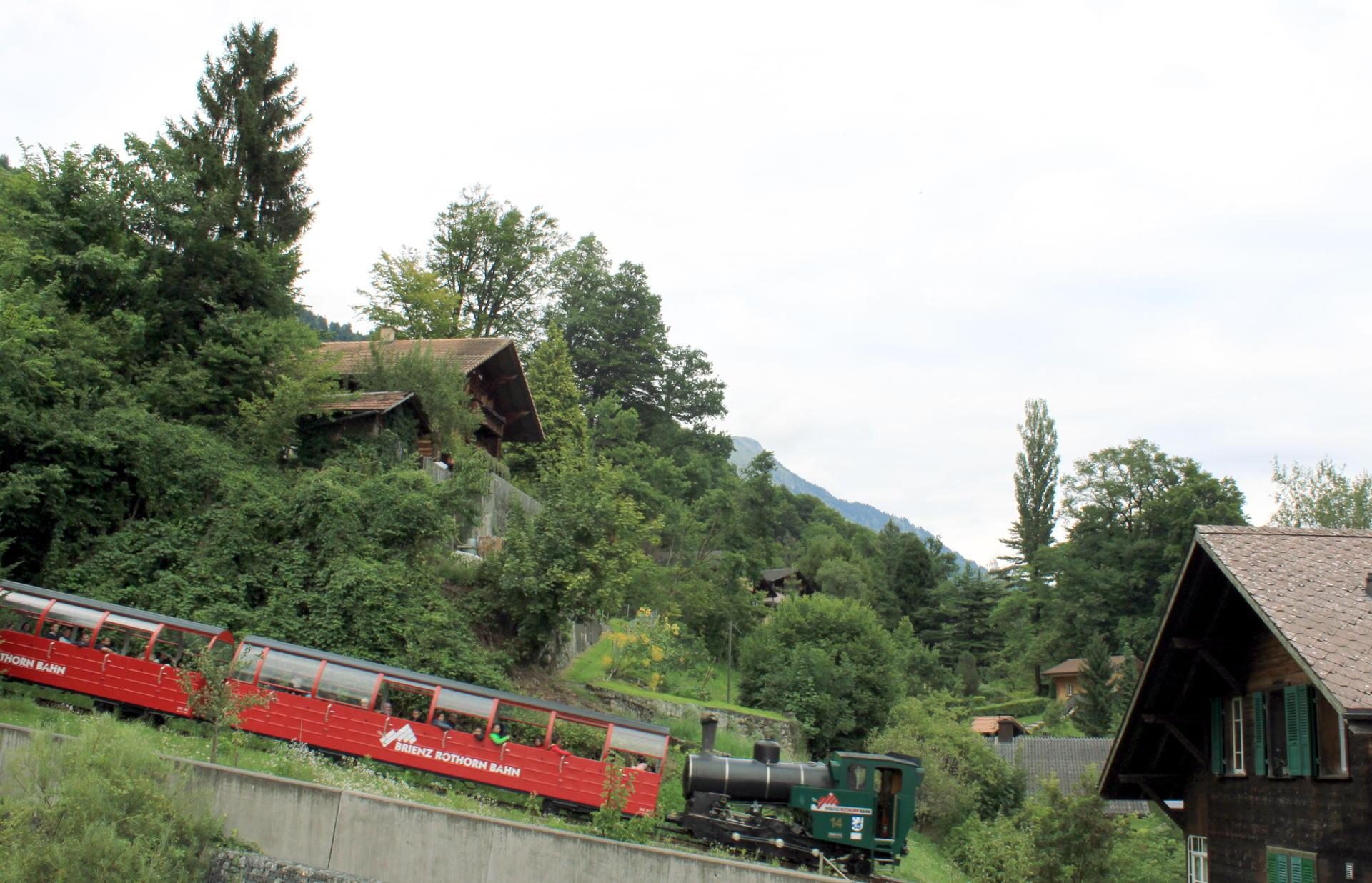 szwajcaria kolejka górska brienz iglawpodrozy