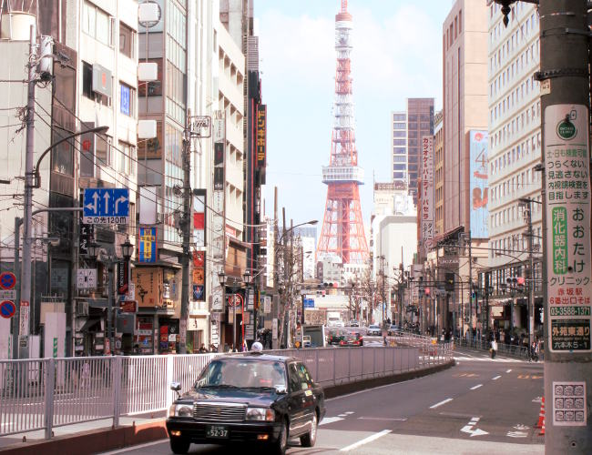 widok Tokyo Tower Minato iglawpodrozy