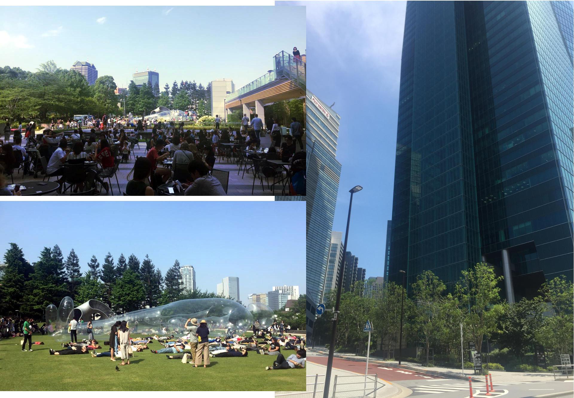 Kompleks Tokyo Midtown iglawpodrozy