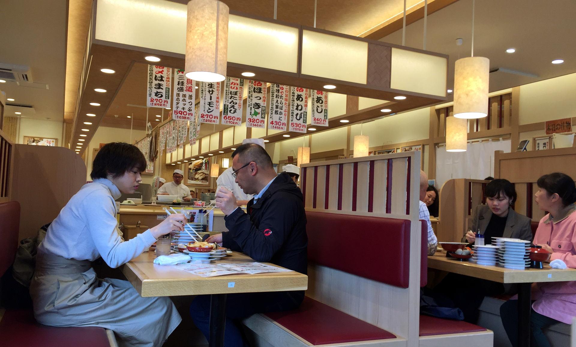 japonia japan hokkaido sapporo sushi iglawpodrozy