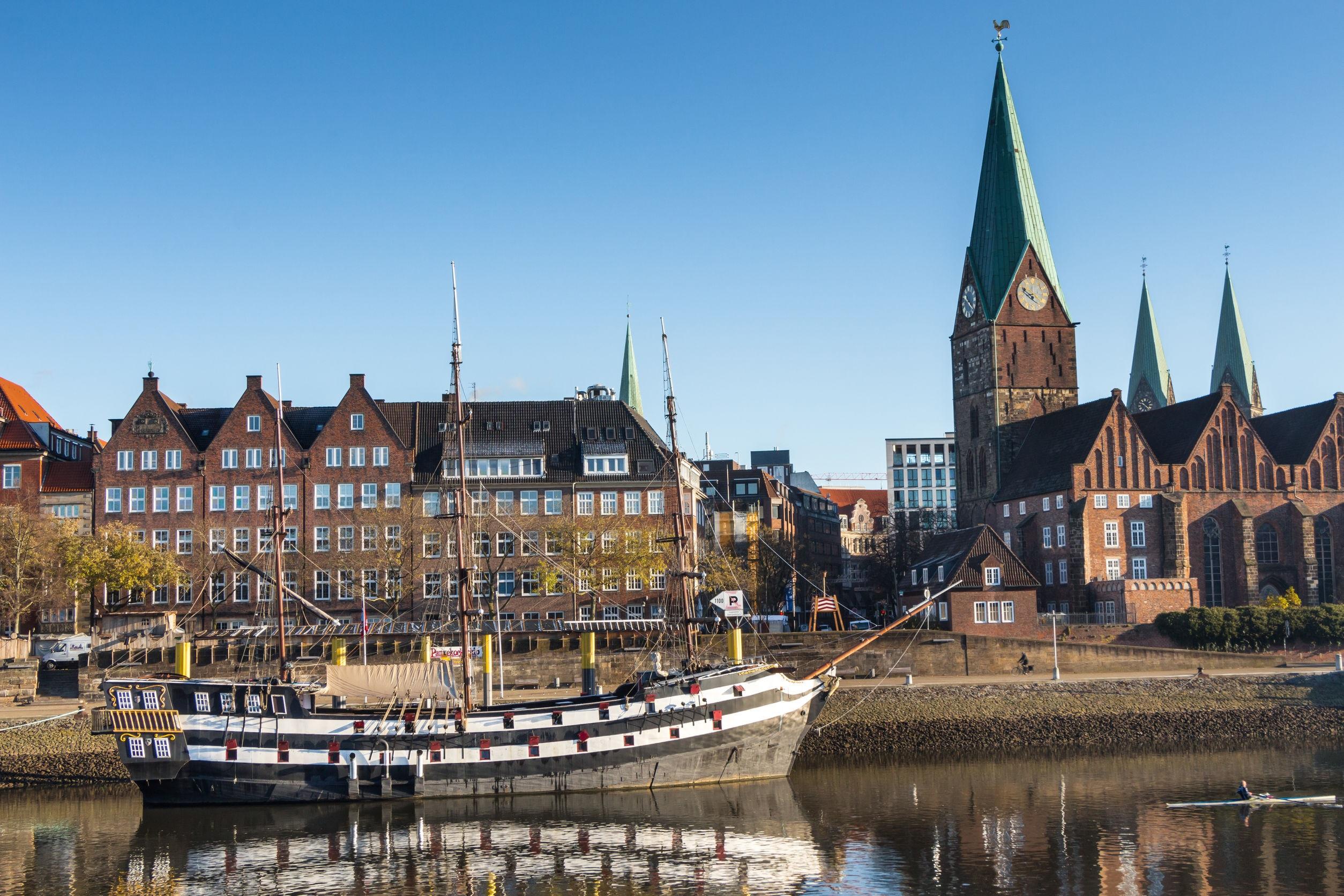 Bremen Weserbetrachtung