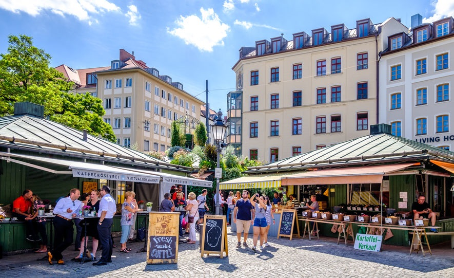 München Viktualienmarkt