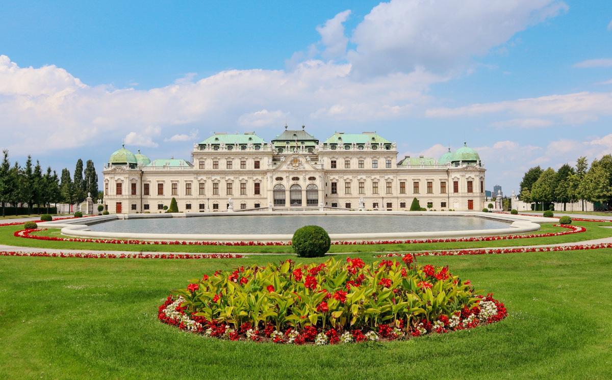 Wien Belvedere Schloss