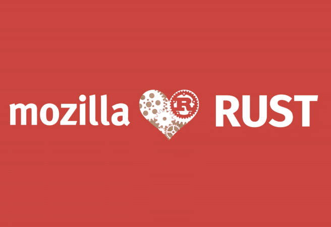 Mozilla love Rust
