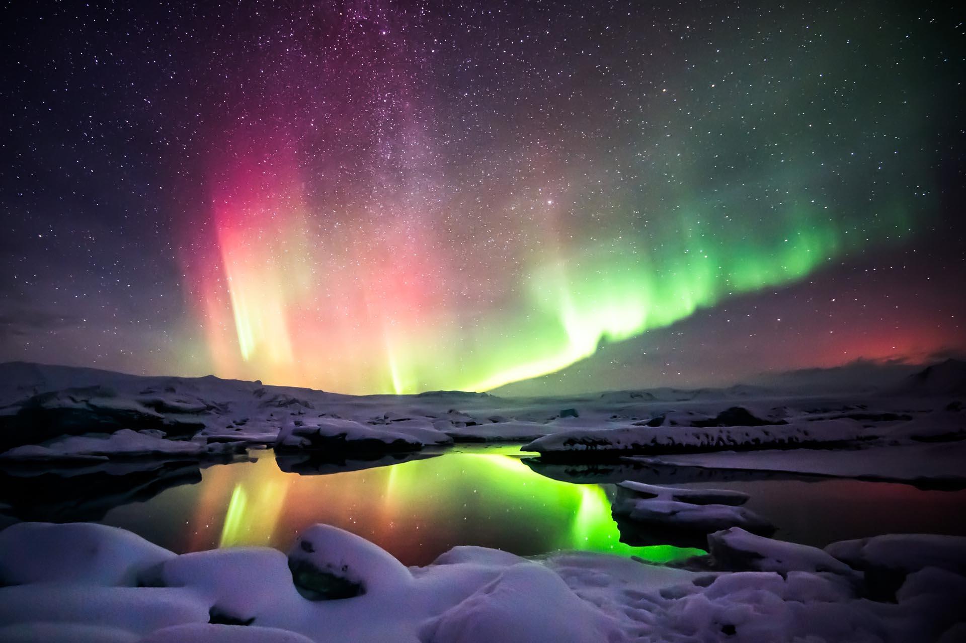 Consejos para ver las Auroras Boreales en Islandia