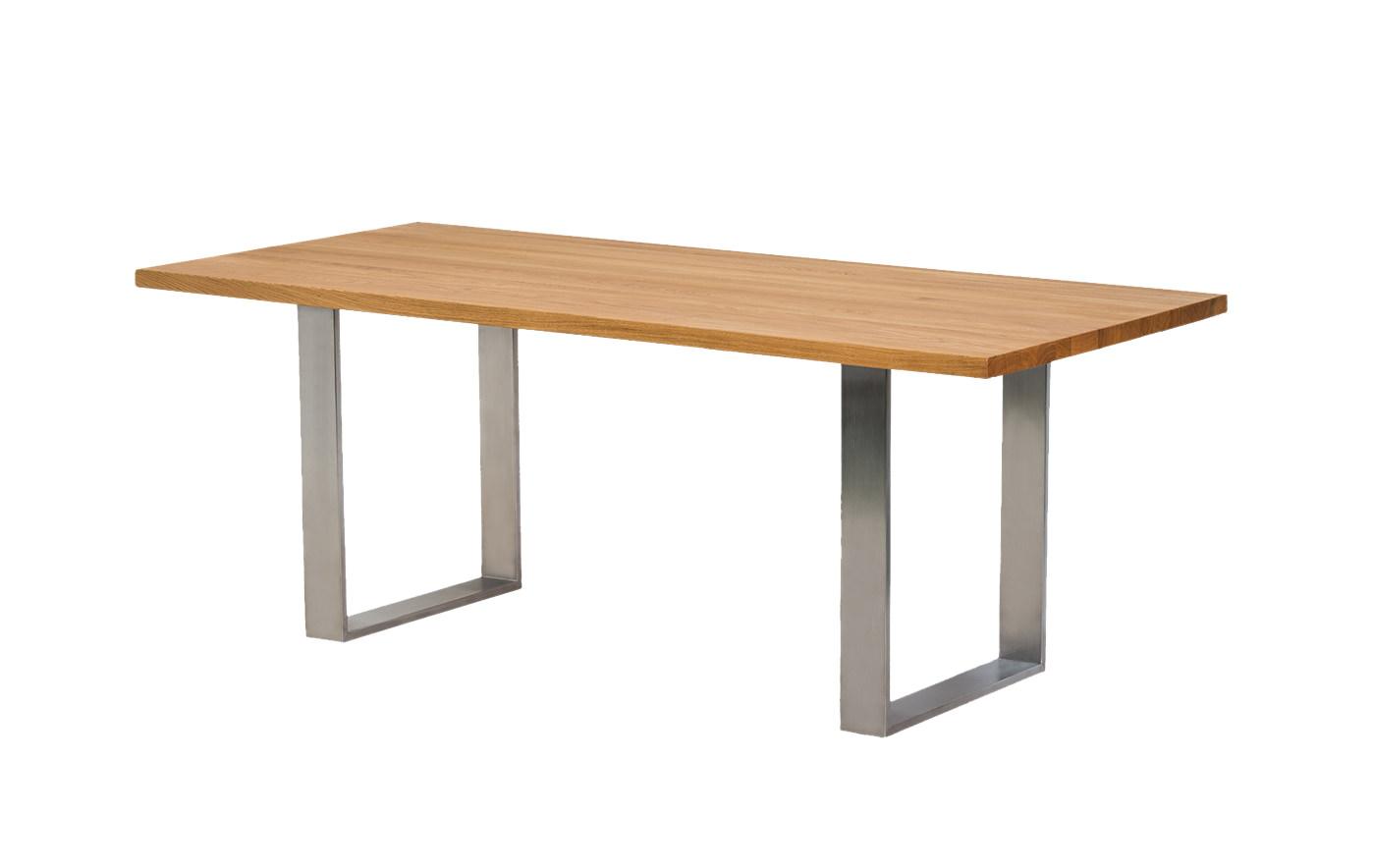 Tisch Elin mit Edelstahl Füßen