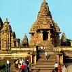 Gruppo esterno di templi Parsvanath a Khajuraho