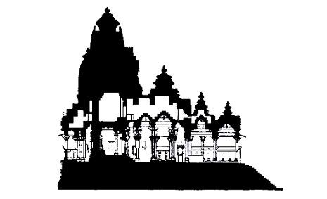 Secondo le regole canoniche i templi devono essere orientati lungo un asse est-ovest, in modo che i primi raggi del sole penetrino nel santuario, regola questa non sempre rispettata.