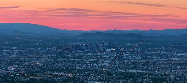 Phoenix - Città in Arizona - USA - Tour 21 giorni arrivo a Phoenix e ritorno da New York