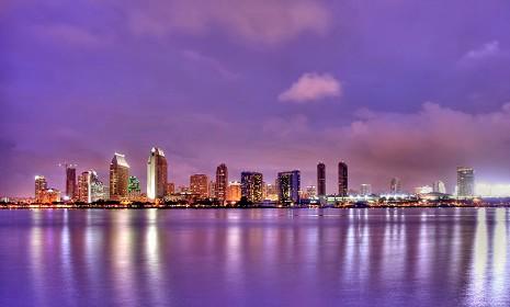 Panorama della città di San Diego