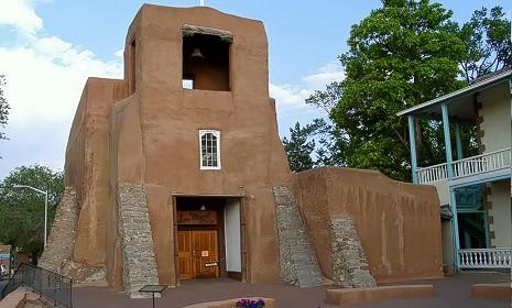 La capella San Miguel Chapel di Santa Fe