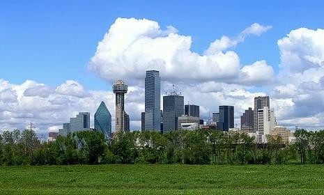 Skyline di Dallas
