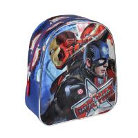 BACKPACK NURSERY CAPITAN AMERICA