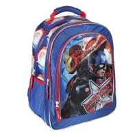 BACKPACK SCHOOL PREMIUM CAPITAN AMERICA