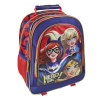BACKPACK SCHOOL PREMIUM DC SUPERHERO GIRLS