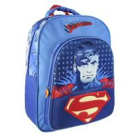 MOCHILA ESCOLAR 3D  SUPERMAN