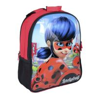 MOCHILA ESCOLAR REVERSIVEL LADY BUG 1