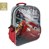 MOCHILA ESCOLAR LUCES  CARS